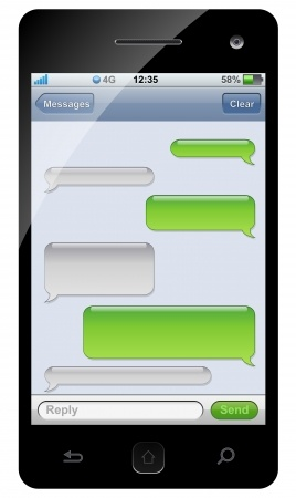 Can i read text messages sent to my phone online