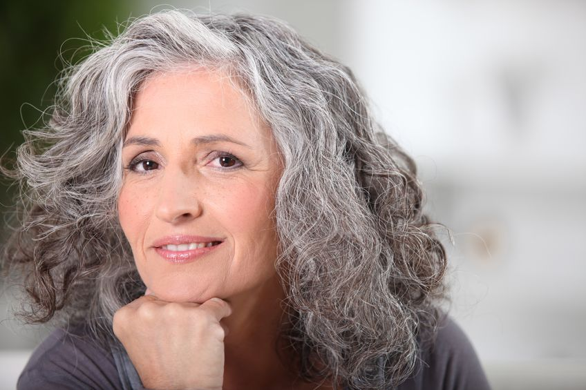 How To Grow Out Gray Hair Naturally