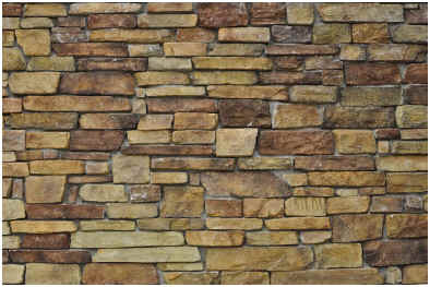 How to paint a faux stone wall for How to paint faux marble wall
