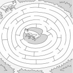 Frog Activities: Easy Frog Maze