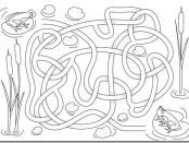 Frog Activities: Frog Maze