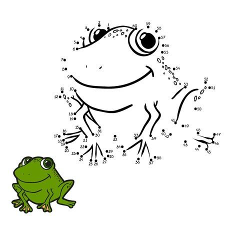 Frog Activities: Number Game